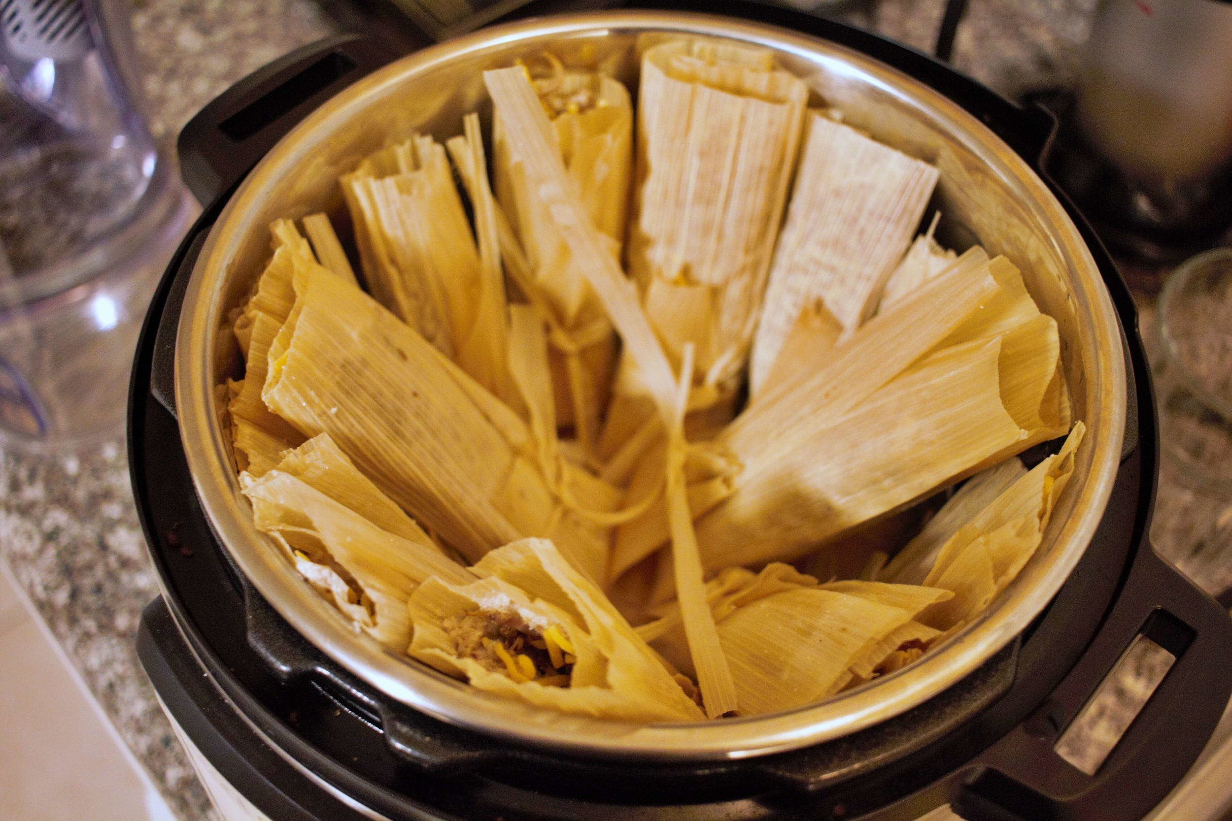 These keto tamales taste as authentic and flavorful as the originals, with tender shreds of meat, gooey cheese, and a mouthwatering masa!