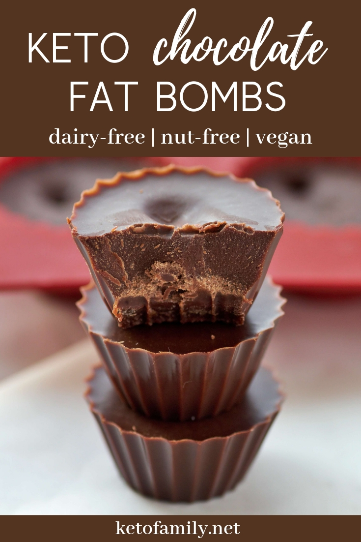 Chocolate fat bombs are an easy recipe to keep your macros in check or get acquainted with keto -- plus, no dairy or nuts!