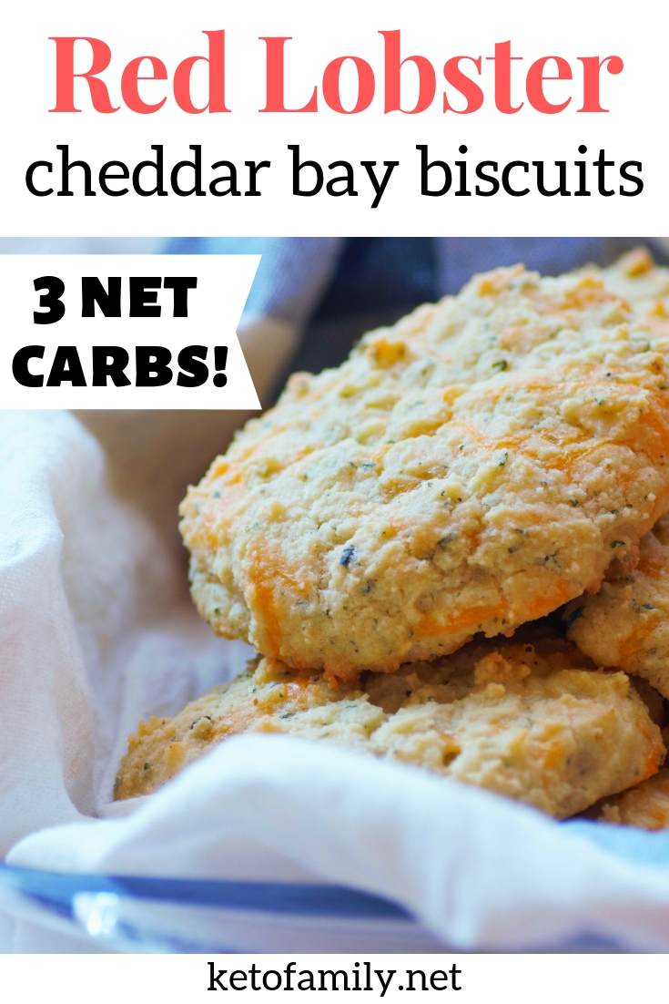 These keto cheddar bay biscuits taste so much like Red Lobster biscuits! Try this copycat recipe for savory, cheesy, and EASY keto dinner rolls.