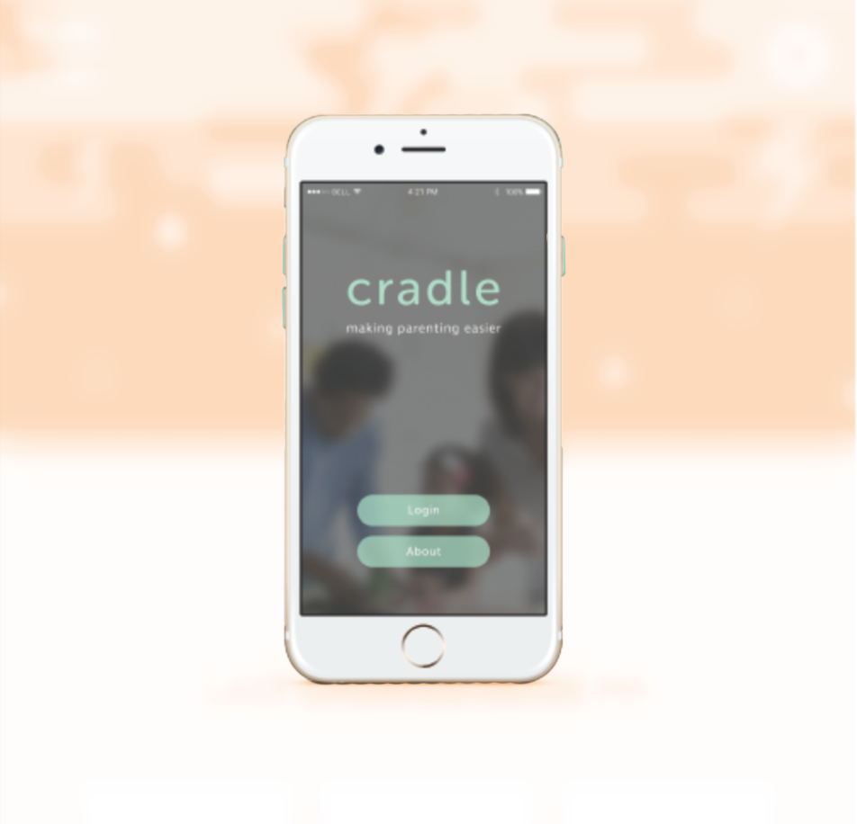 mobile design - cradle