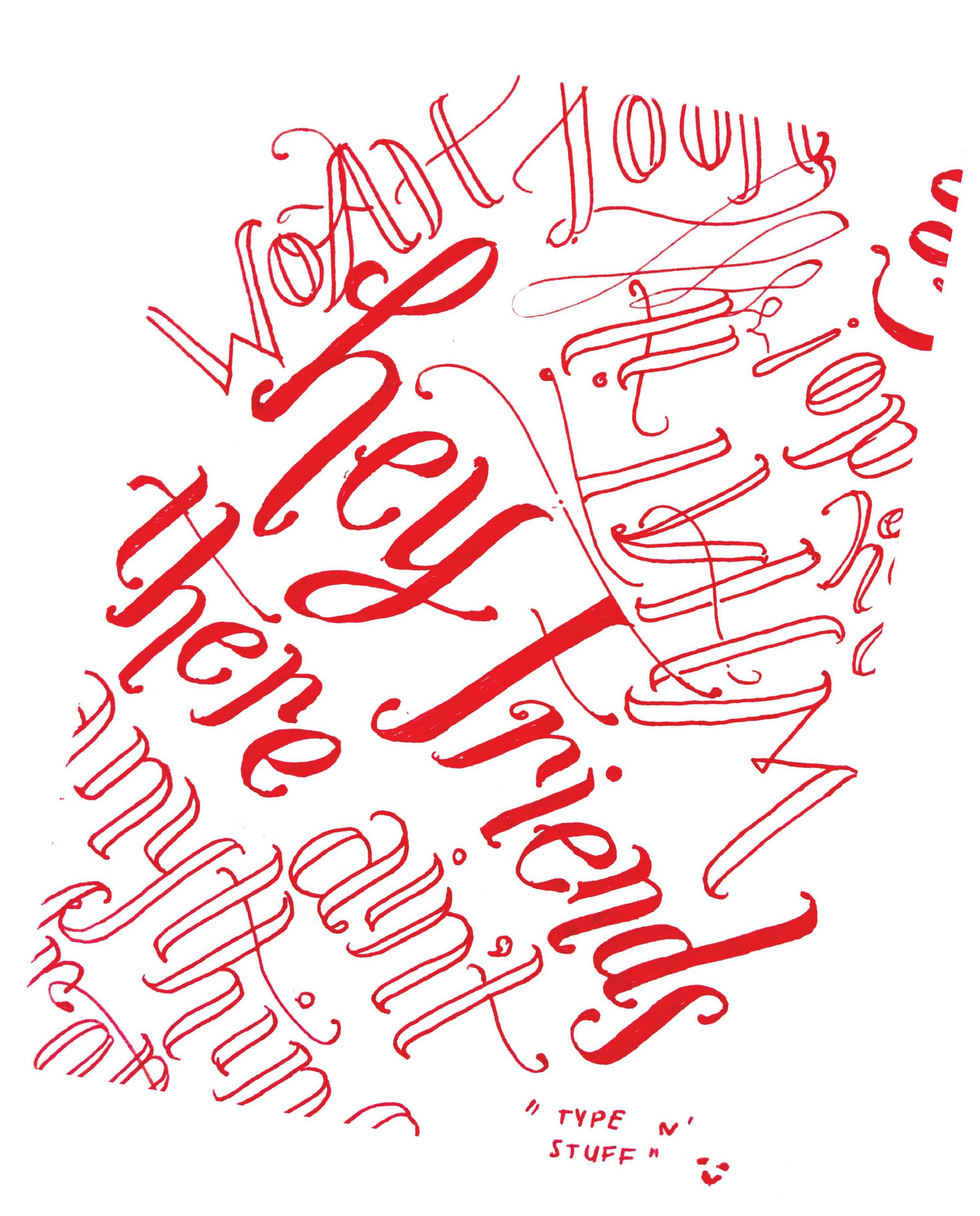 Gel Pen Scribbling