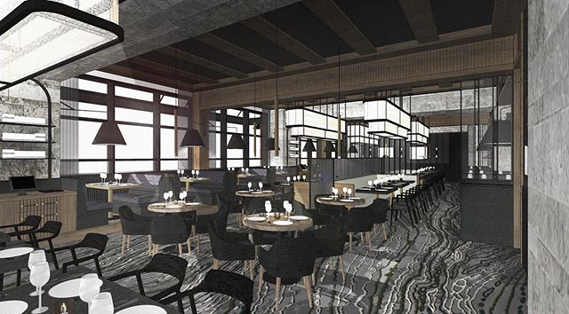 """Things are really ramping up on our steakhouse project. As we near the finish line it's fun to look at our renderings and see how the design has evolved. 3D models are one of our greatest tools and are really the """"selling point"""" for our designs. We like to use them as a gauge, they tell us if we are on point and  if we have seamlessly achieved our clients goals. From early on this tool allows us to have a clear design direction. When our job is done right, there is no denying the deja-vu moment like you just stepped into your 3D model. We can't wait to show you this finished space soon! . . #architecture #architect #interiordesign #interiordesigner #design #designer #interiors #renovation #yyc #yycdesigner #yycliving #residentialdesign #designfirm #fortarchitecture #calgary #grey #calgarybuzz #restaurant #restaurantdesign #steakhouse #bar #steak #calgaryeats #calgaryliving #yycnow #yycrestaurants #lounge #cocktailbar #interiorinspo #designinspo"""