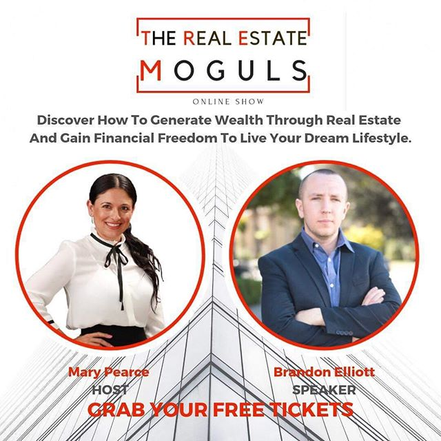 "Super excited to share 👉 ""3 STEPS"" you can take to ""START INVESTING"" in ""REAL ESTATE"" 🏡 —— Honored to be interviewed on: ""The Real Estate Moguls Show: Discover How to Generate Wealth Through Real Estate, Gain Financial Freedom, and Live Your Ideal Lifestyle"" 🙌 Thank you @internationalhomesfinder for having me! —— ‼️CLICK the LINK IN BIO to GAIN ACCESS of MY INTERVIEW 🔝⬆️🤫"