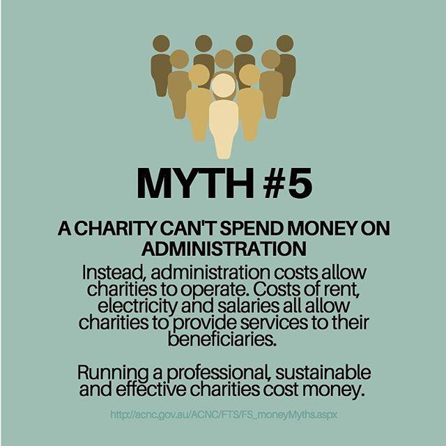 Myth Monday! #fundingforimpact