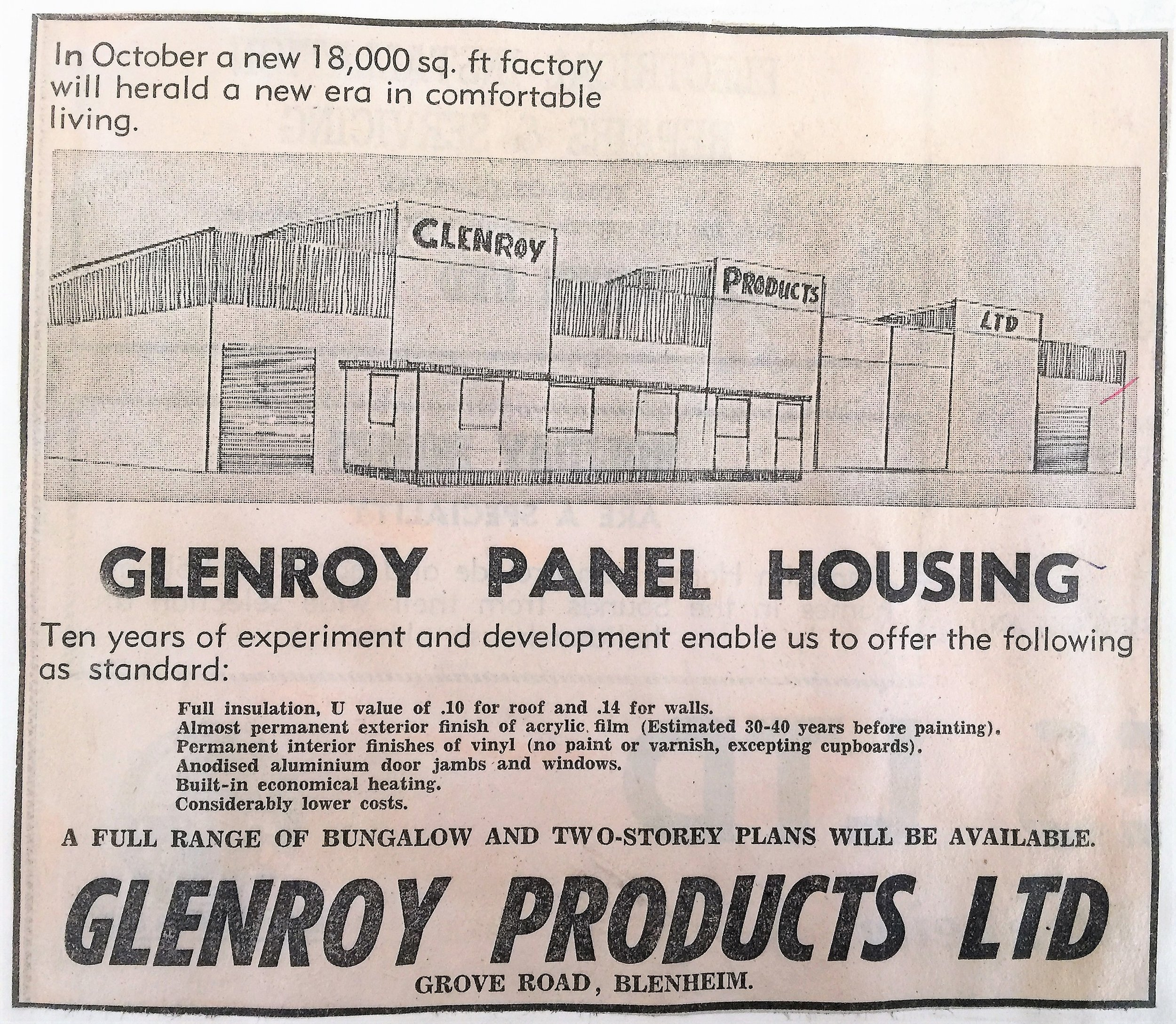New Factory Premises - It was an exciting day the company expanded into new premises and a new factory in June 1973.