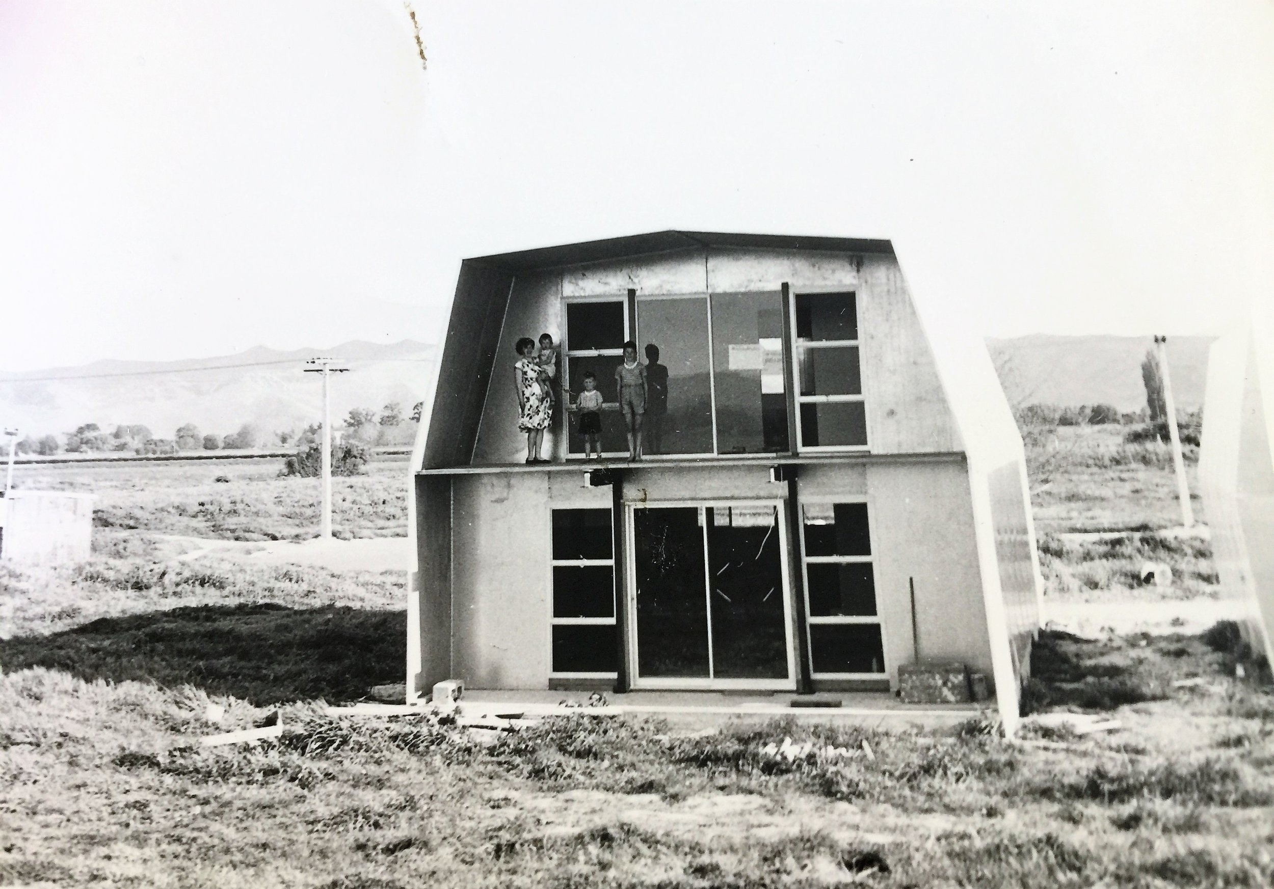 Innovation - A natural progression soon led to the development of Glenroy Housing and the development of some of the first prefabricated houses produced in New Zealand. Designed with pre-insulated panels they were well before their time.