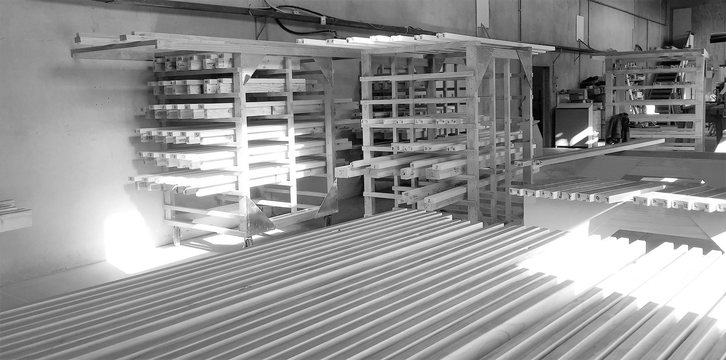 Fabrication - Once consent has been granted we develop the working drawings for the fabrication of your projects components in our Marlborough Factory. Our skilled craftsman work closely with our designer to ensure perfect fit and finishes.