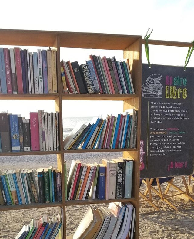 How cool is this free library that I found... on the beach?! Here in northern Chile, it pretty much never rains, so you find things like this just out there in the elements all the time.  This find was the combination of two things that I love, the beach and books. 🌅📚 . . One of my favorite strategies in therapy is 'naming the story' to help clients find common themes amid the mental chatter that they experience in their day to day life that typically holds them back from living the kind of life that they want to live.  In ACT, this is about noticing and naming, finding a way to accept the thoughts in our daily lives without identifying with them.  Once they are noticed for what they are, just a story our mind likes to tell us, it makes it a lot easier to place that story on your mental bookshelf and continue on with it just hanging out there and not dictating your life.  What kind of stories do you have on yours? . . #onlinecounseling #searchwandercollect #expatlife #girlswhotravel #therapy #booktherapy #narrativetherapy #acceptanceandcommitmentherapy #ACT #onlinetherapist #whatsyourstory #senamoranlmhc #anxietywarrior #mentalhealthwarrior #breakthestigma #mentalhealthmatters