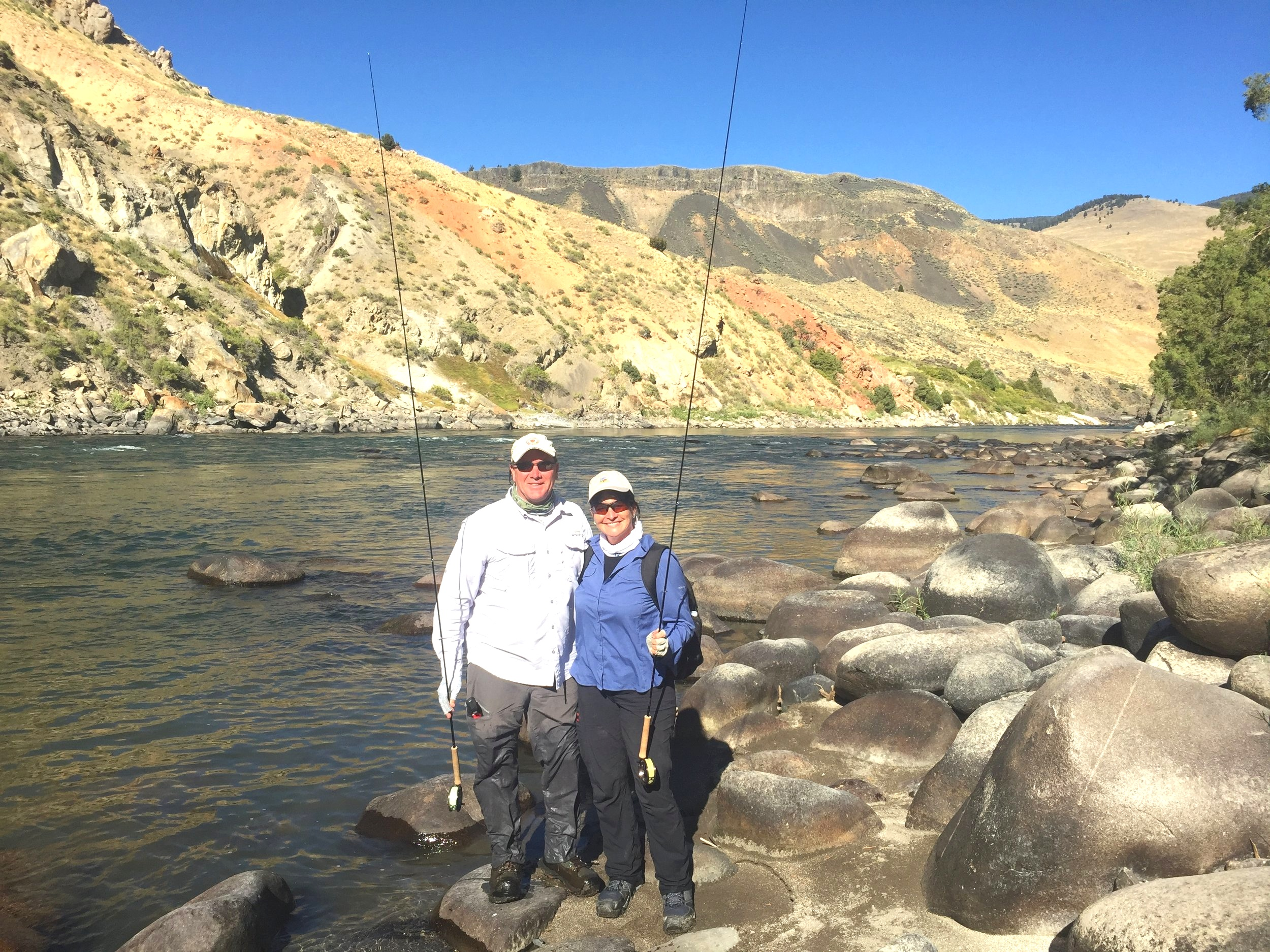 Yellowstone National Park walk-wade adventure August, 2018