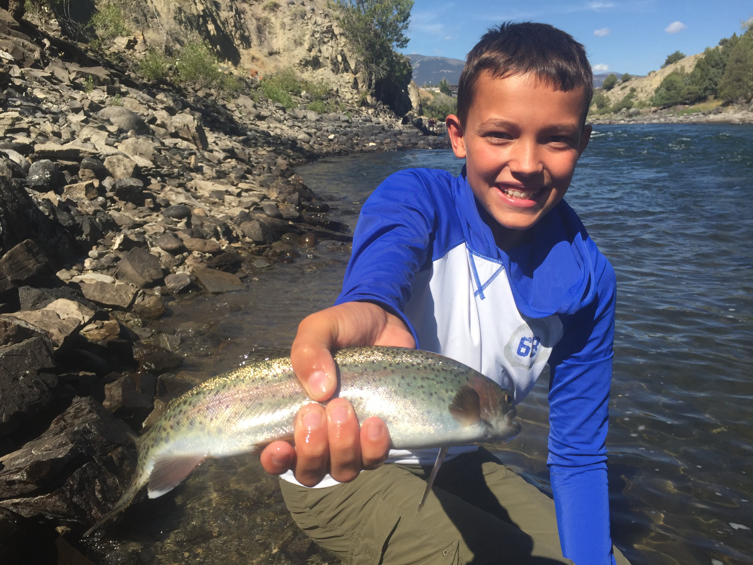 Kid Pic- Yellowstone River Outfitters