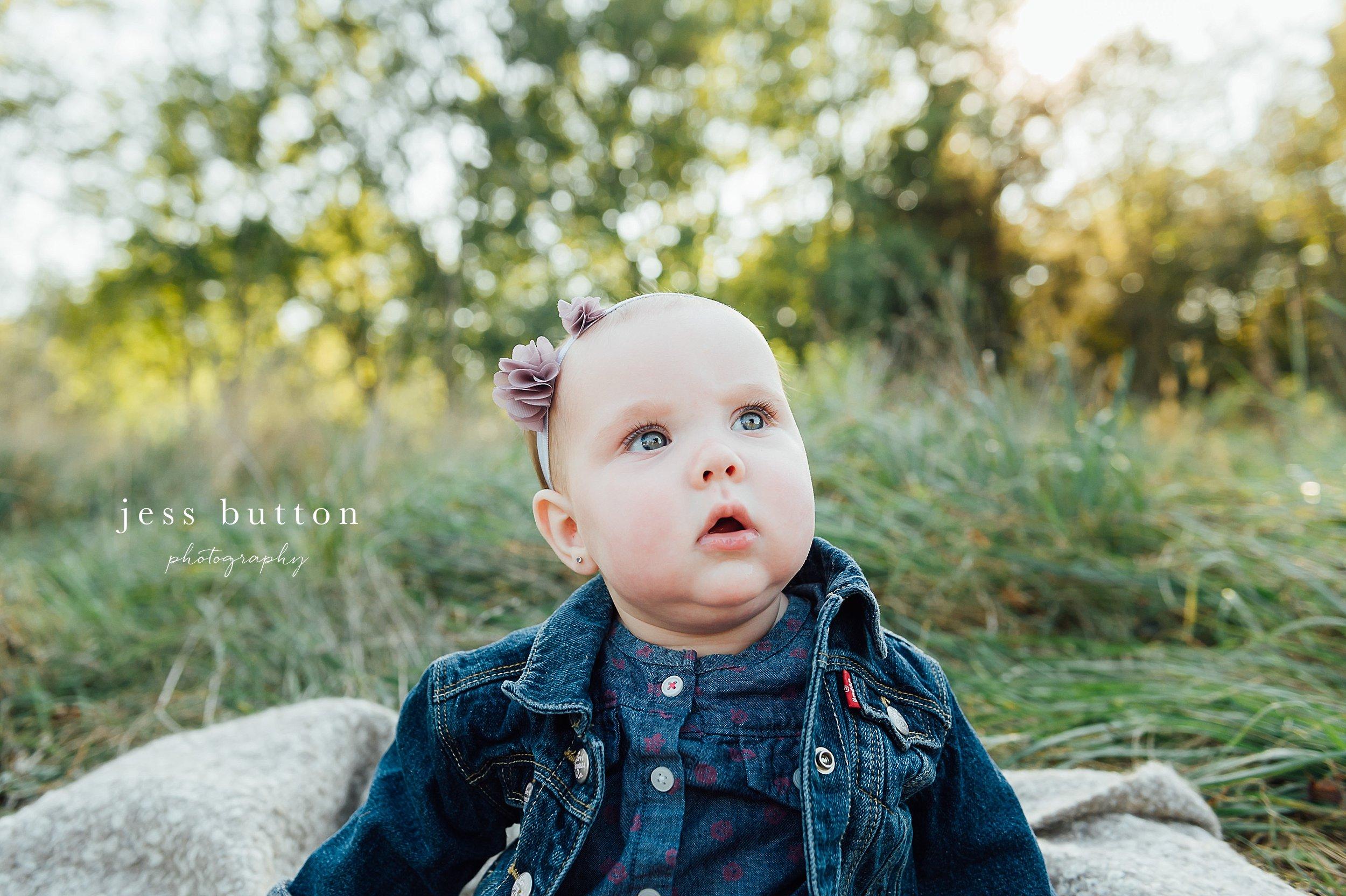 Niagara Family Photographer - Fall family portraits Niagara-on-the-Lake - 10 month old baby girl