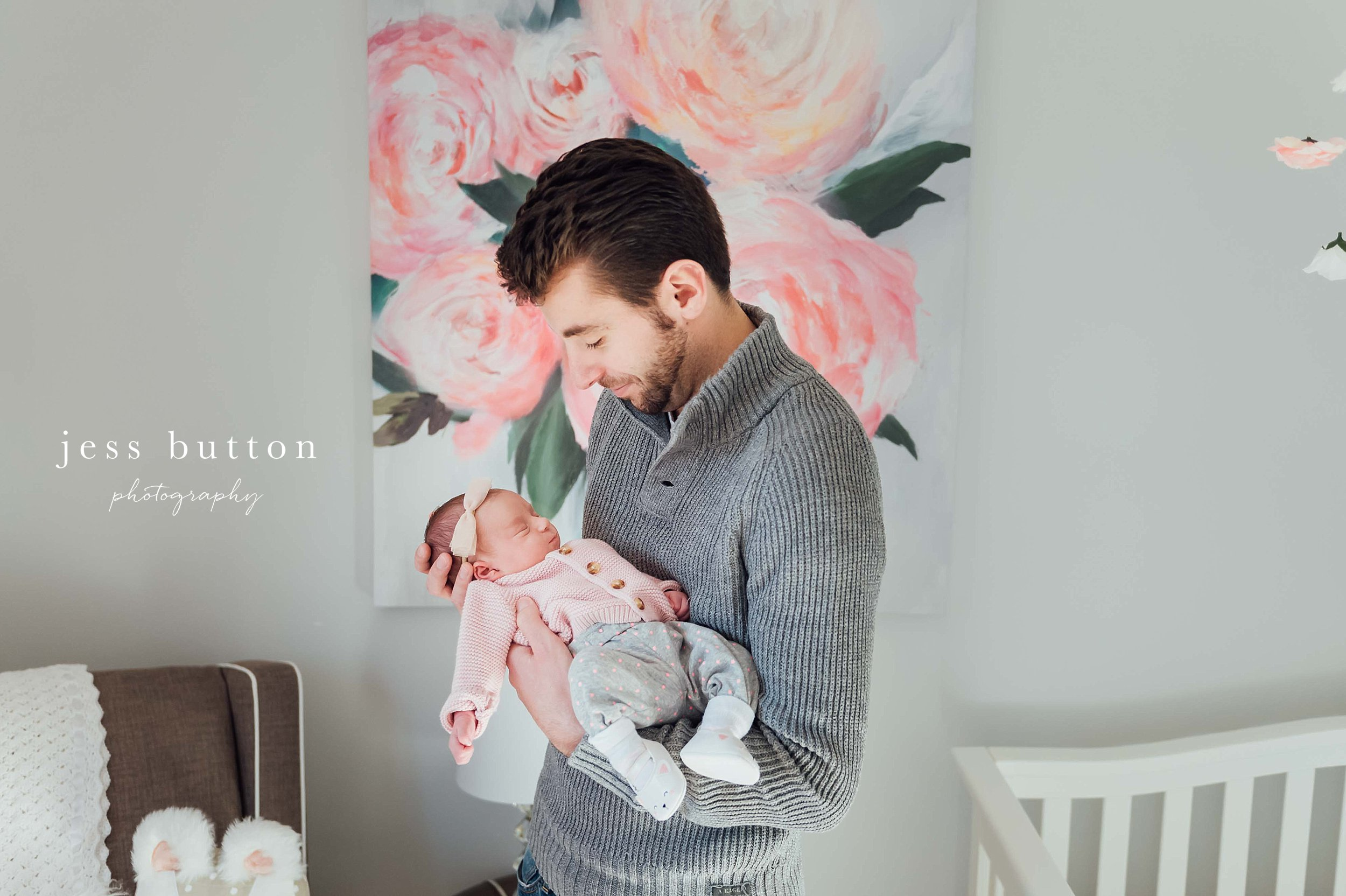 Niagara Newborn Photographer - one week old baby girl