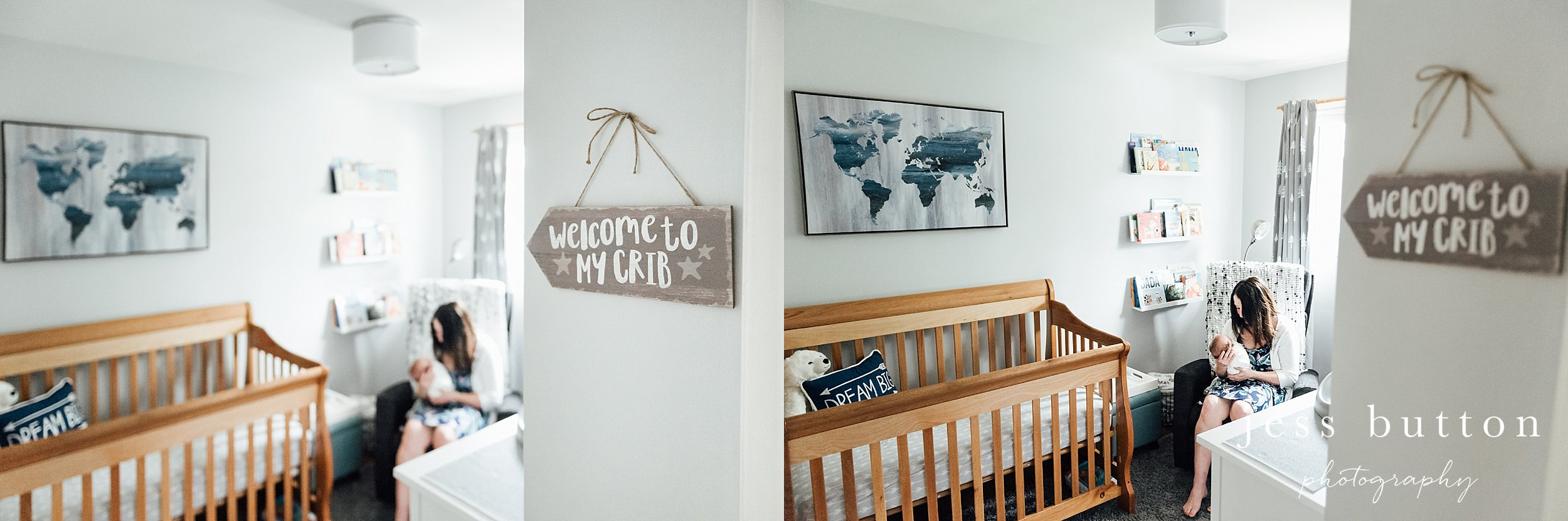 niagara region in home newborn photographer
