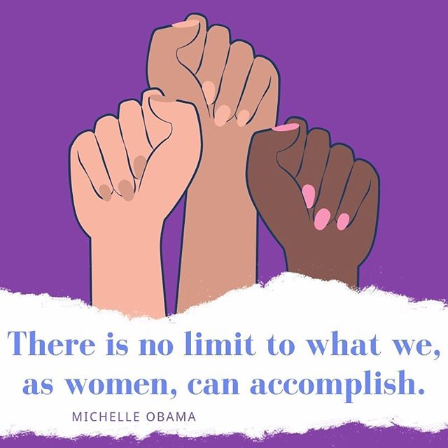 Empowered women, empower the human community. Happy #internationalwomensday! 🚺💪🏽💜⁣⠀ ⁣⠀ ⁣⠀ #womensday #women #girlpower #iwd #iwd2019 #womenempowerment #beboldforchange #girlboss #strongwomen #pressforprogress #womeninbusiness #womensupportingwomen #internationalwomensday2019 #girls #thefutureisfemale #womensrights #woman #womenshistorymonth #empowerment #whoruntheworld #womensmarch