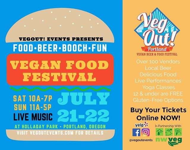 Attention Portland! We'll be at the first ever VegOut! Vegan Food & Beer Festival this Saturday and Sunday at Holladay Park! Come find us serving Cosmic Tea, Coconut Lime Truffles, and slinging samples of Curried Cauliflower Bites all weekend. We can't wait to see you there! #gingerlynutrition #vegout #vegoutportland #vegan #plantbased #glutenfree #antiinflammatory #meals #catering #localfood #healthyfood #nutritionist #nutrition #eatlocal #seasonalfood #sustainable #chef #cheflife #culinarynutrition #pdx #pdxeats #pdxfood #portland #wholefoods #caterer #popups #letusfeedyou