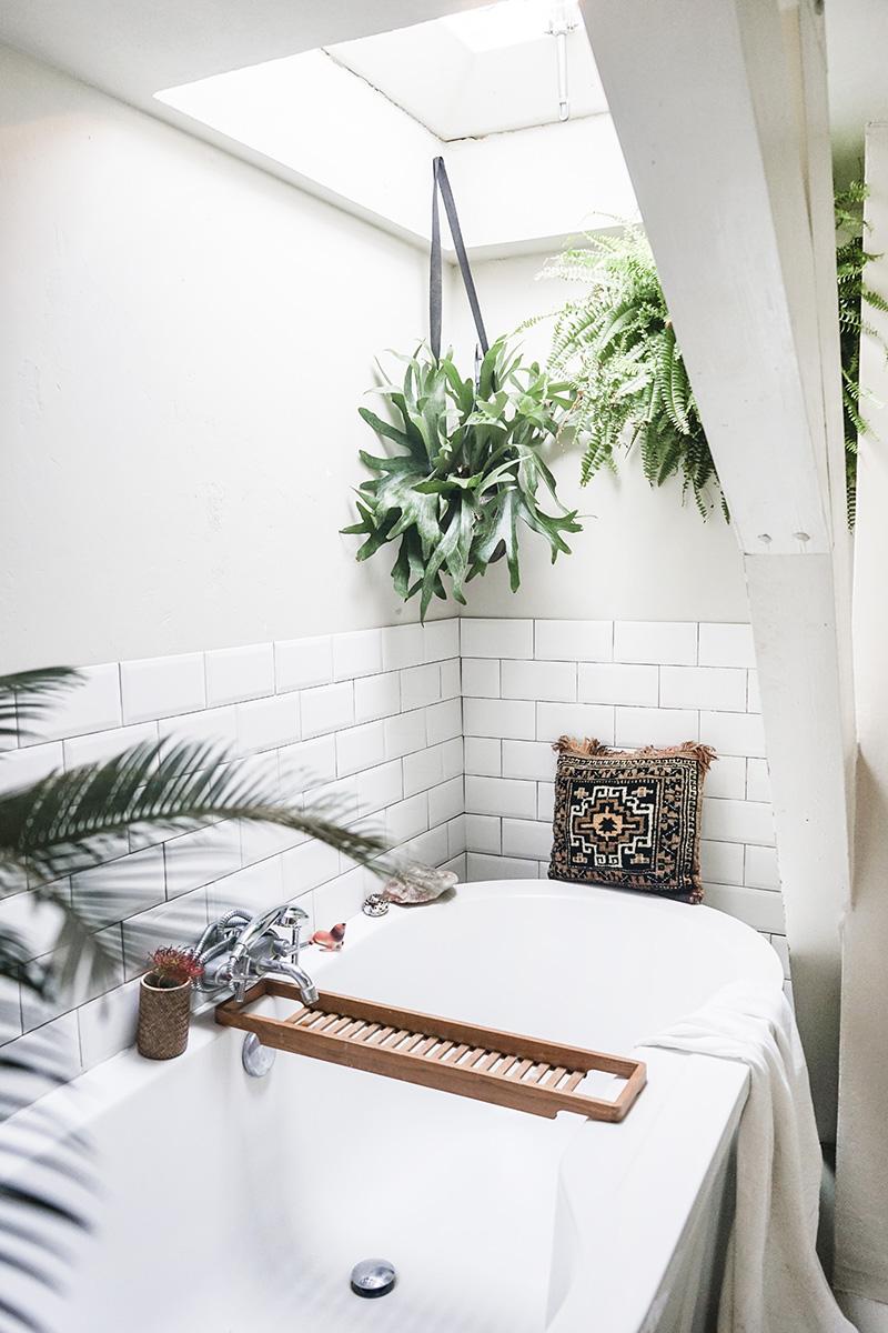 Wonderful greenhouse bathroom design