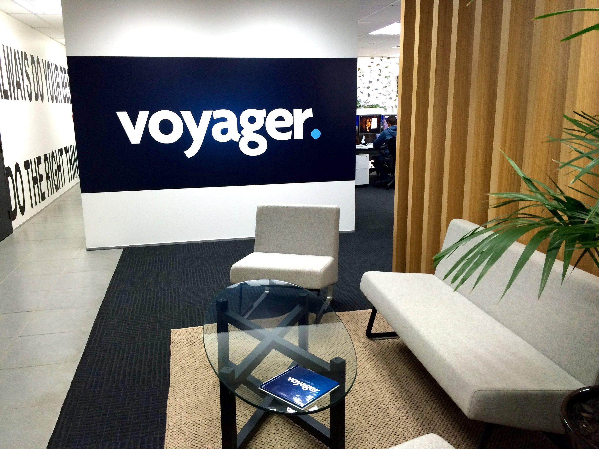 Voyager interior design