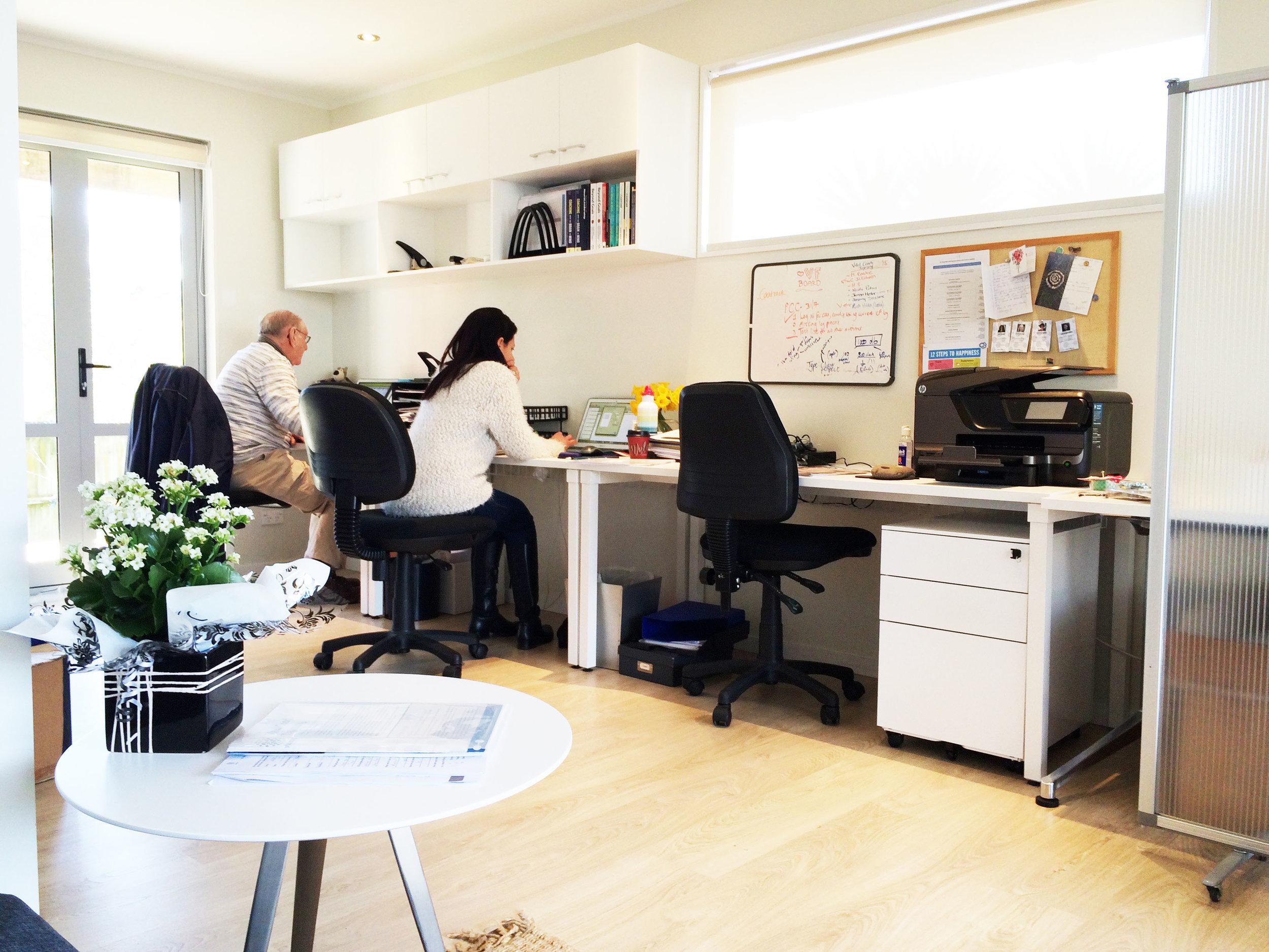 Virtual Futures interior design
