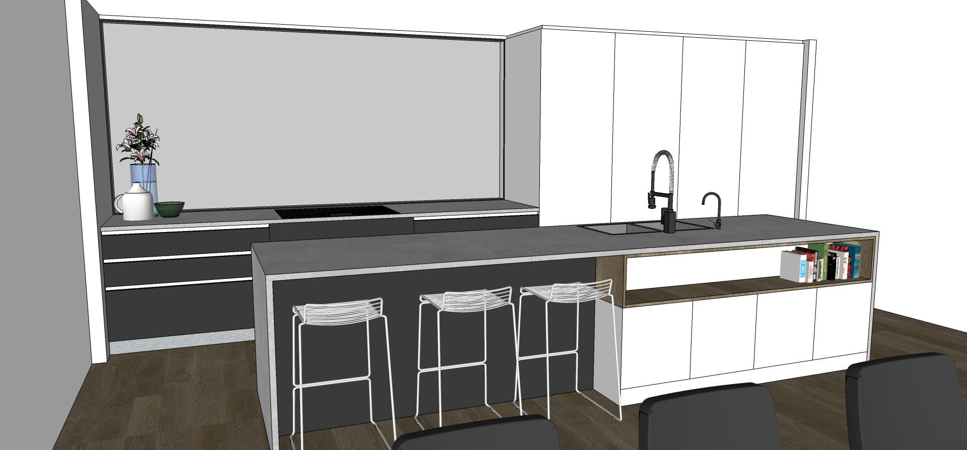 St Heliers kitchen design concept