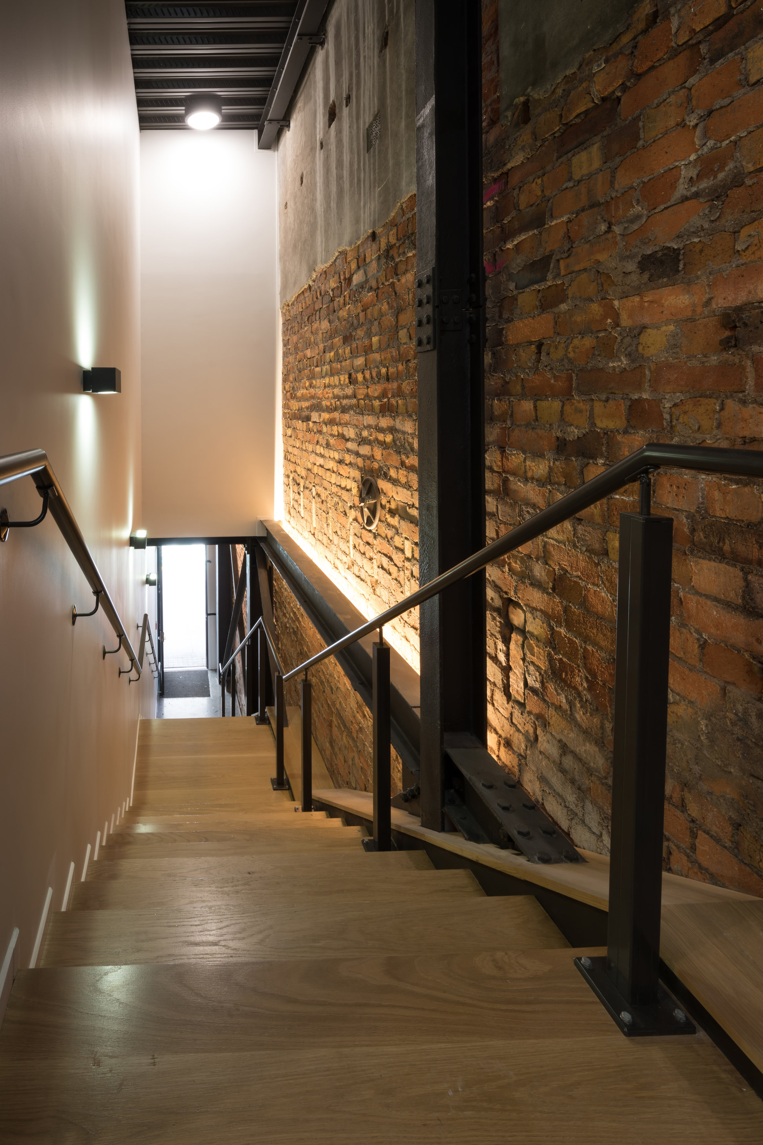 Industrial Stairs 94-96 Queen Street