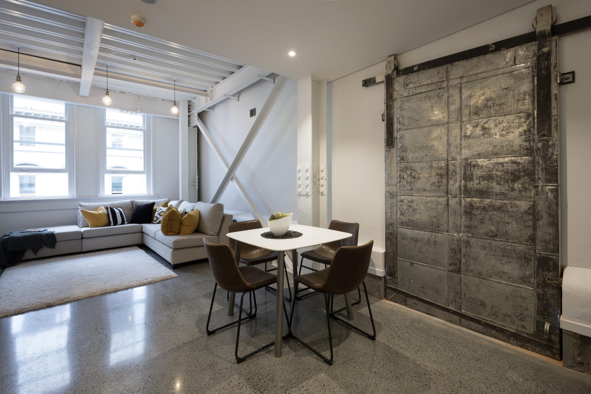 94-96 Queen Street, Auckland NZ. Small Space Interior Design specialists, Pocketspace Interiors
