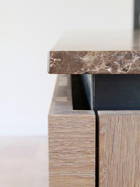 Stunning bench top negative detail.