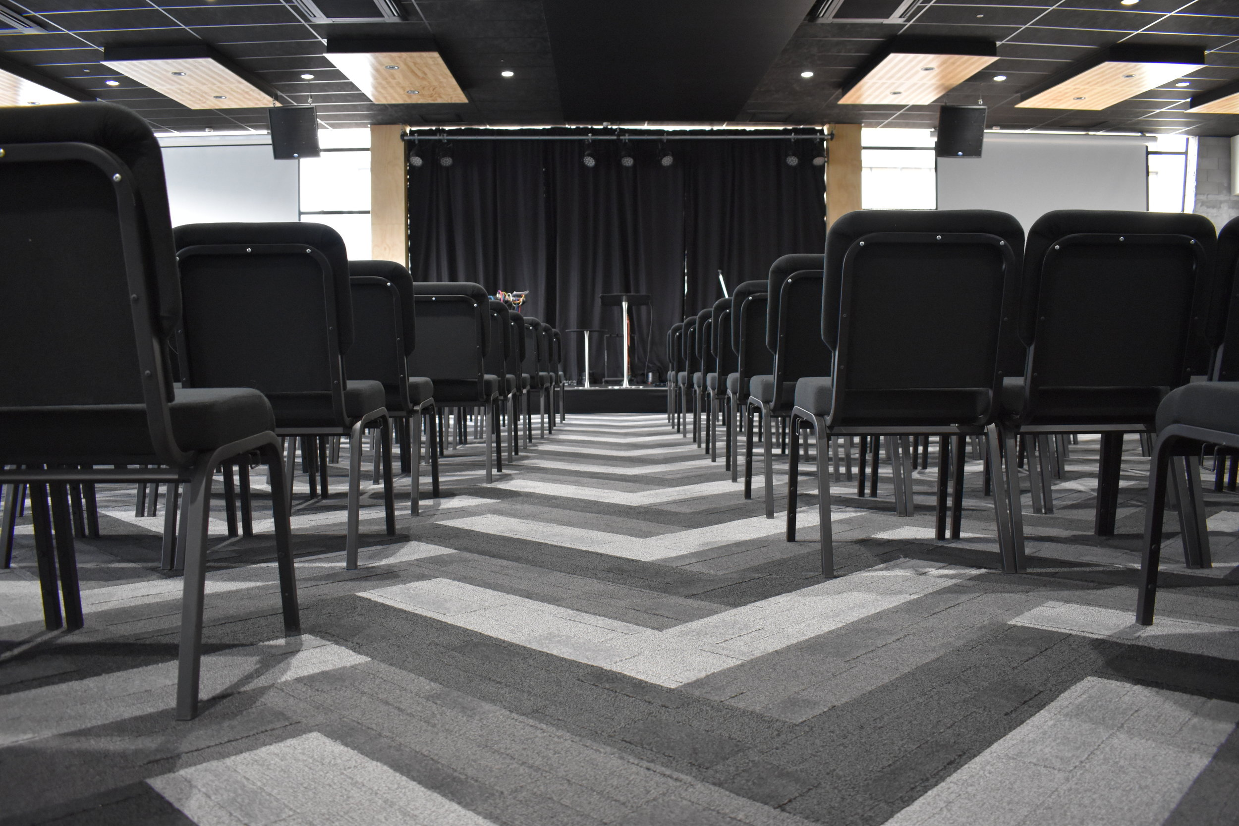 Faith City Church, Auckland NZ - Central Spine - Pocketspace Commercial Interior Design
