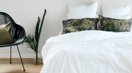 The stunning Penny & Bennett Guardian pillow slips.