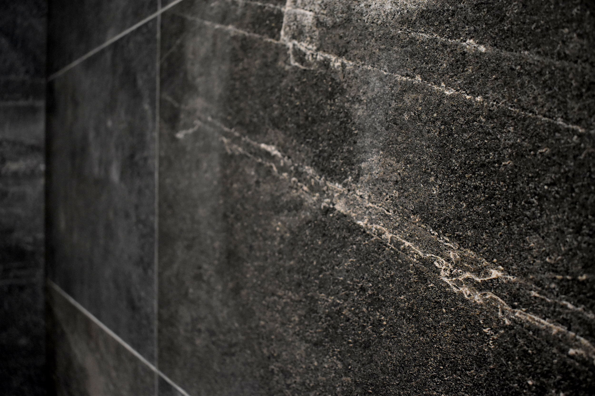 Master Ensuite tiles from  Tile Space .