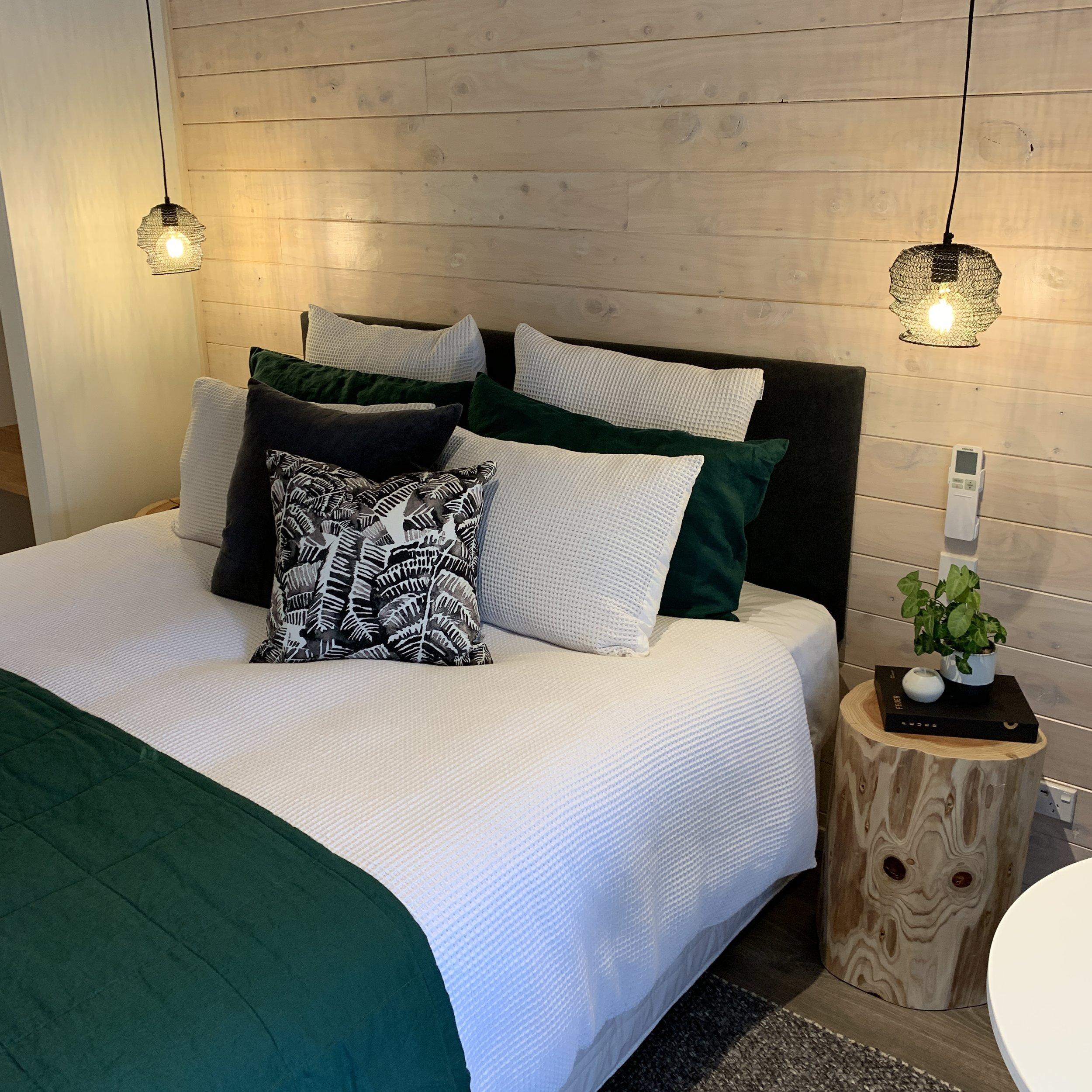 WAIRUA LODGE - A tranquil lodge renovation…