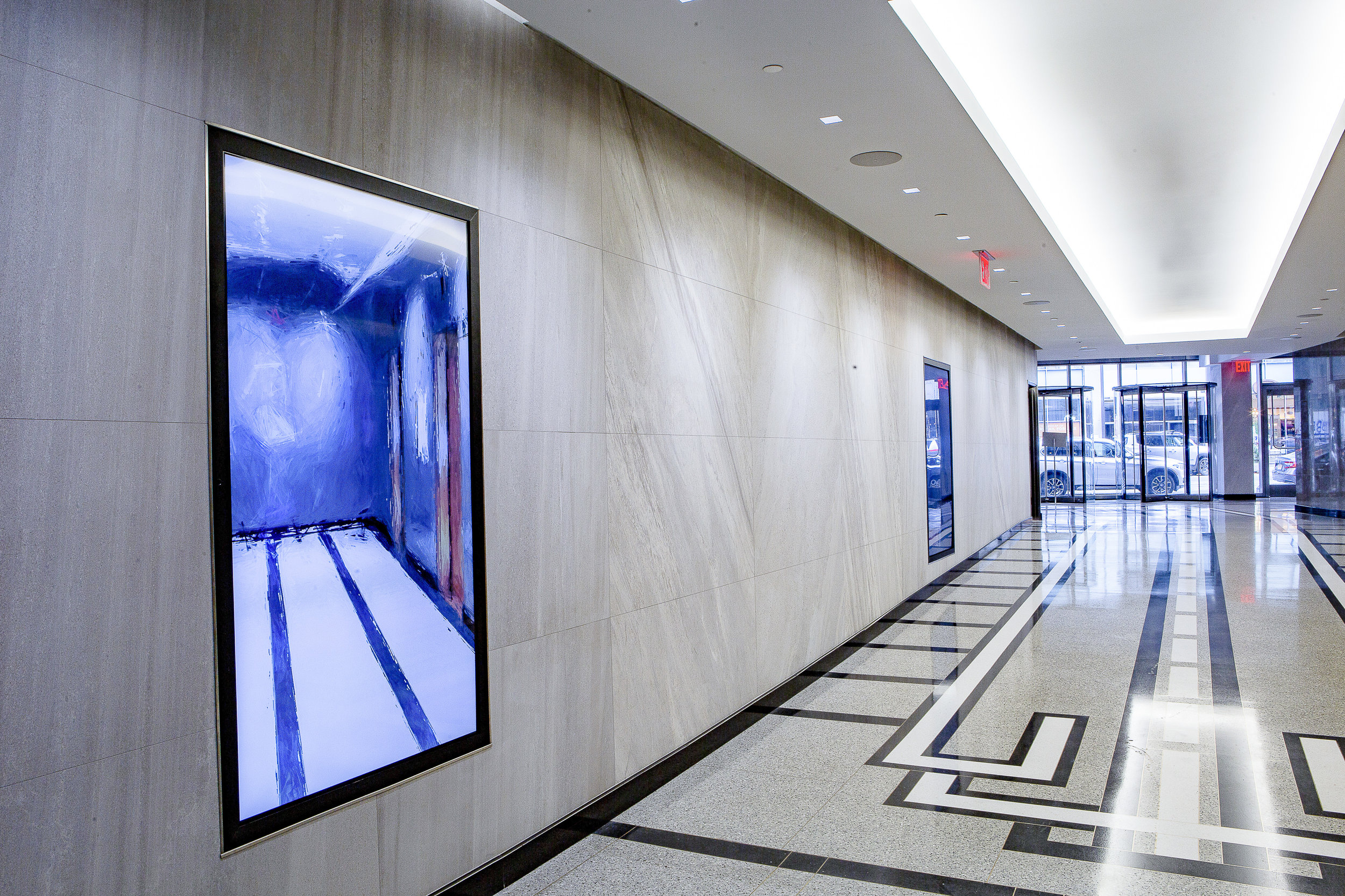Software Mirror at 10 Times Square Lobby