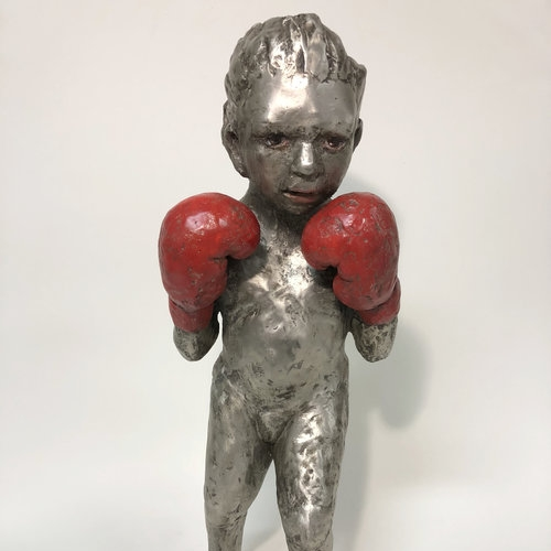 Boxing Girl by Claudia Alvarez