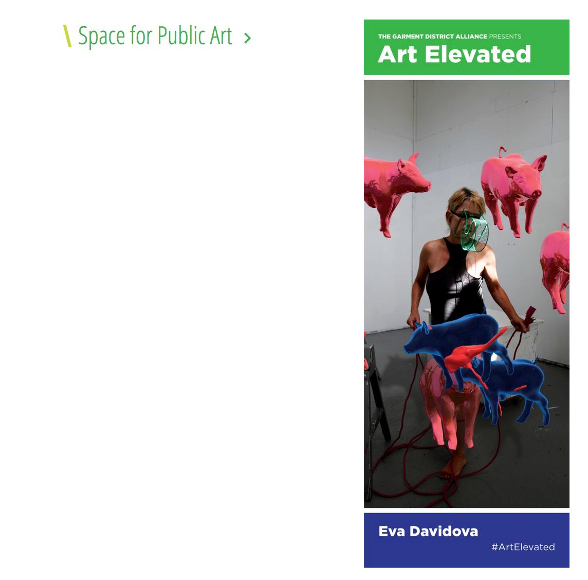 Eva Davidova | Art Elevated Finalist