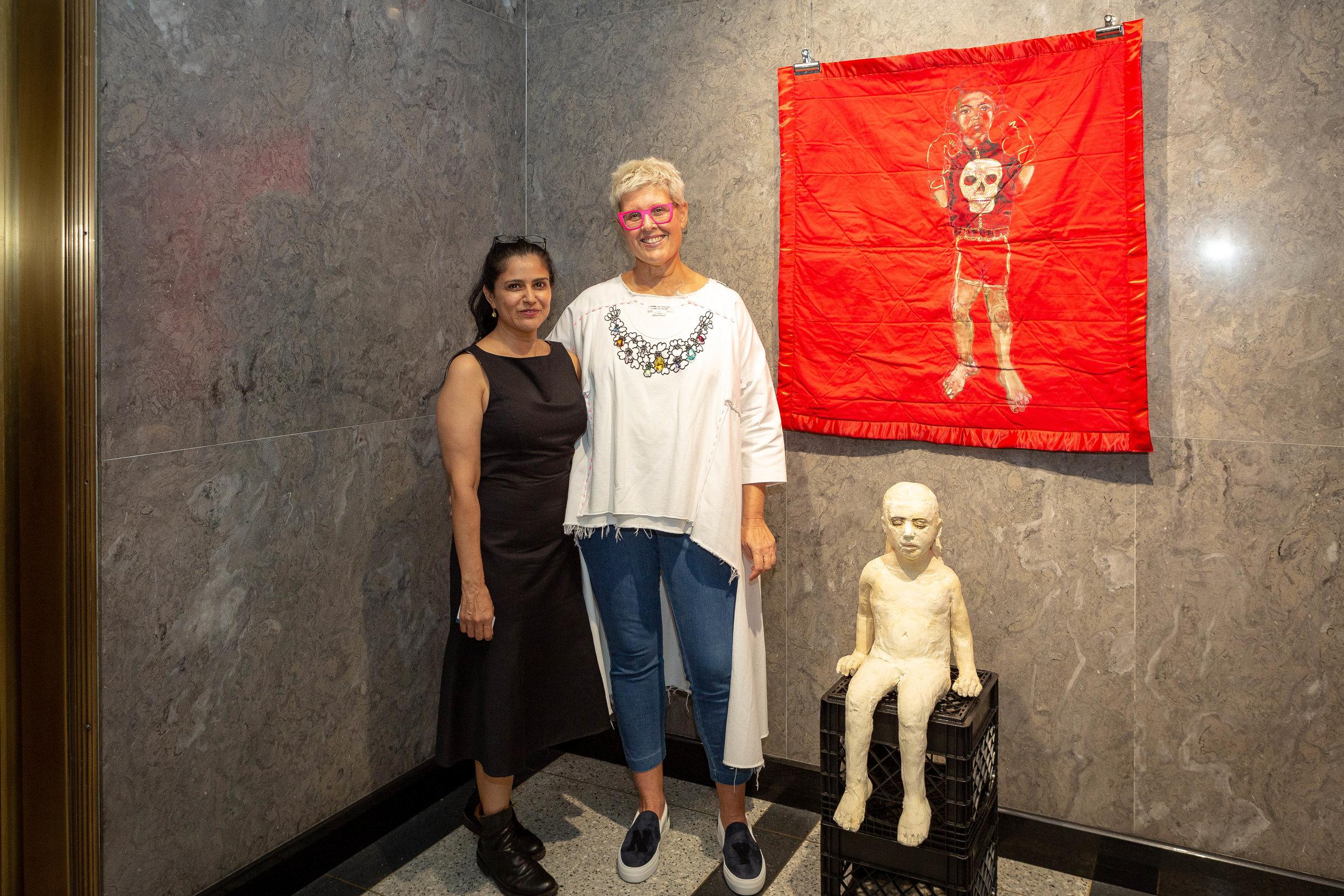 Claudia Alvarez & Tzili Charney