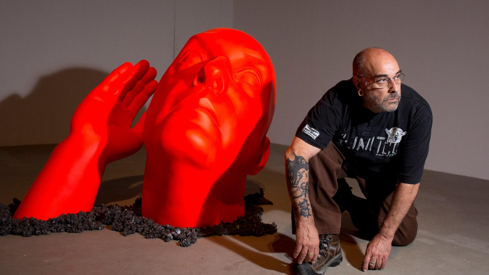Uri Katzenstein, untitled, 2013-2015 Backyard exhibition at the Tel Aviv Museum of art