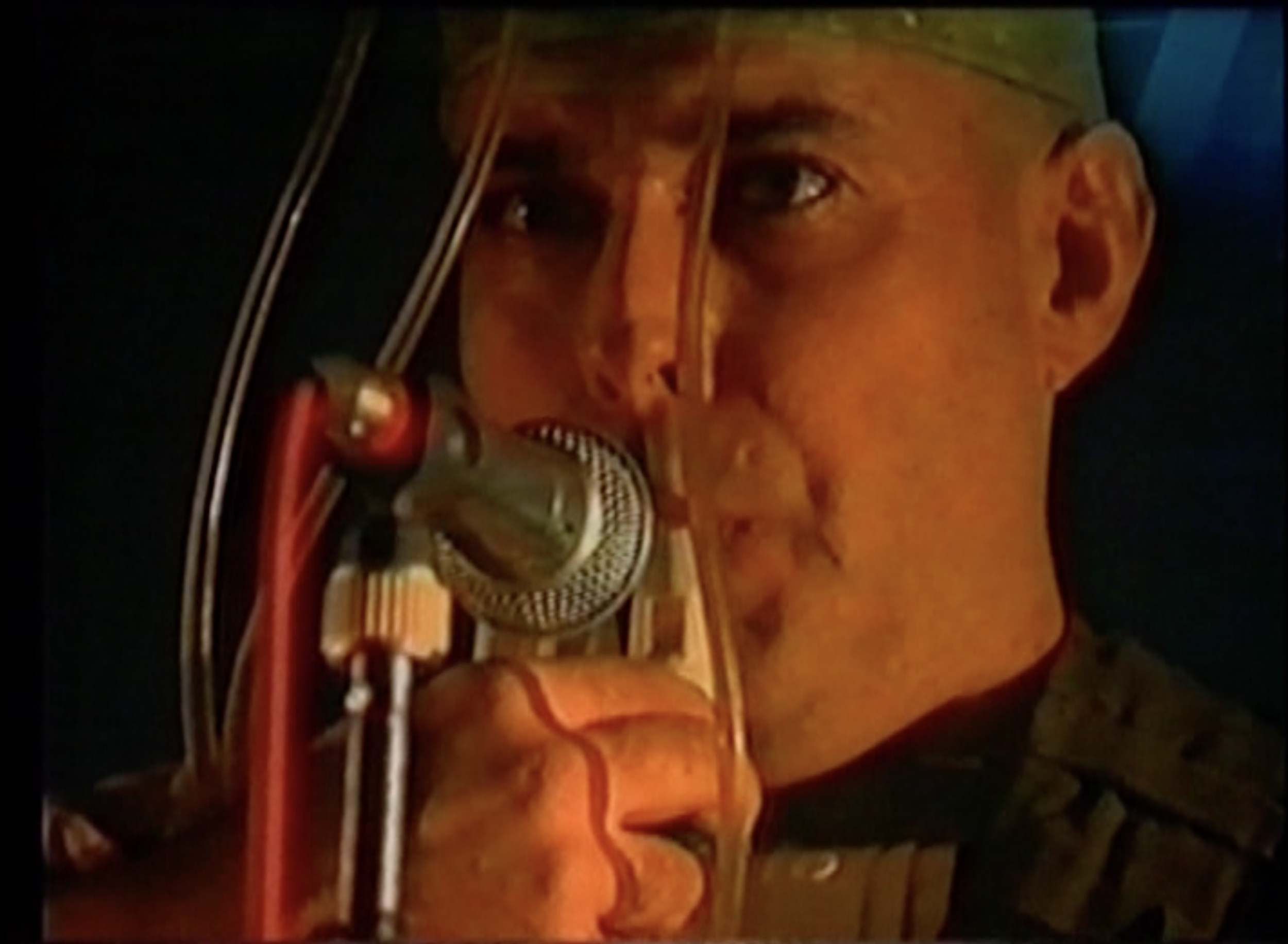 Image from Panta Rai, Performance Video with Yossi Lederman, 1991