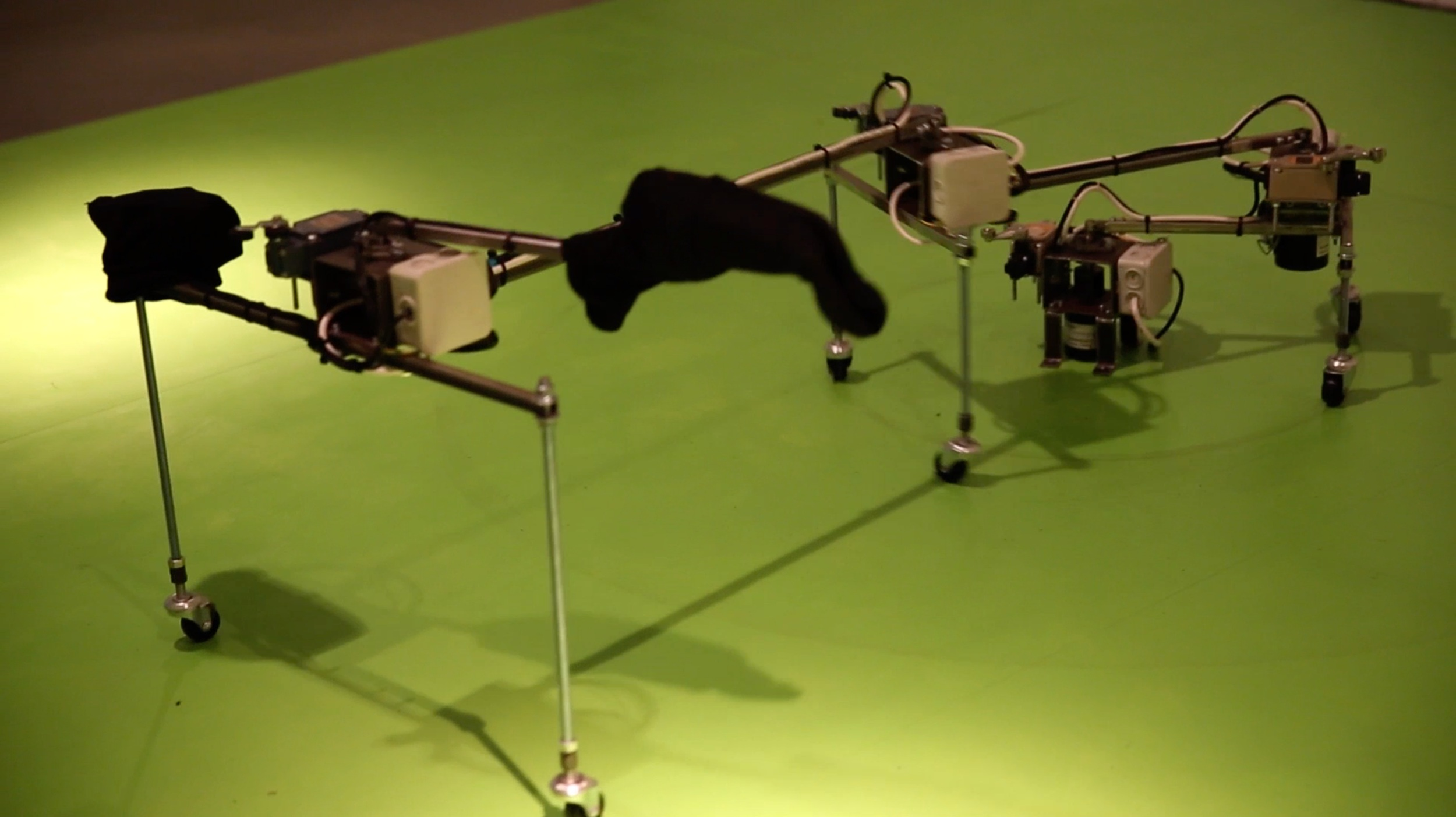 Image from Video Documentary of Borderline, Sound Machine, 2013