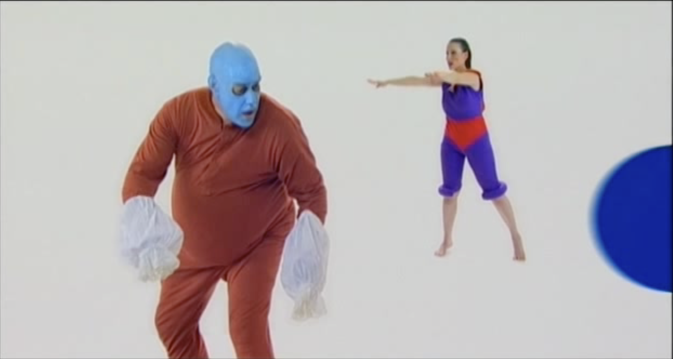 Image from the The Garden, Performance video documentation, 2003