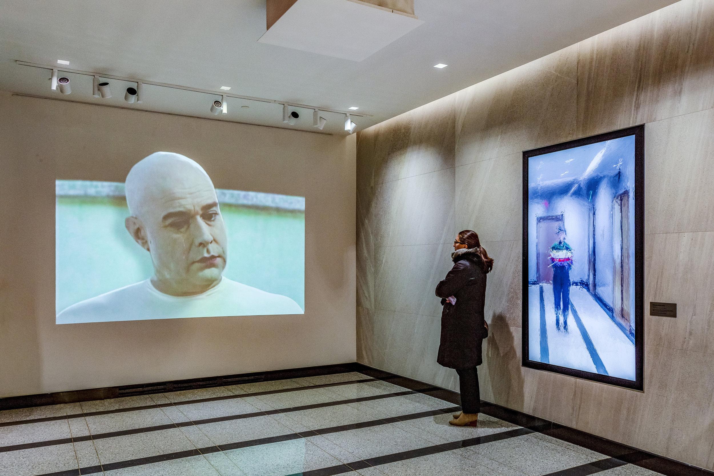 Gallery Wall Video Art