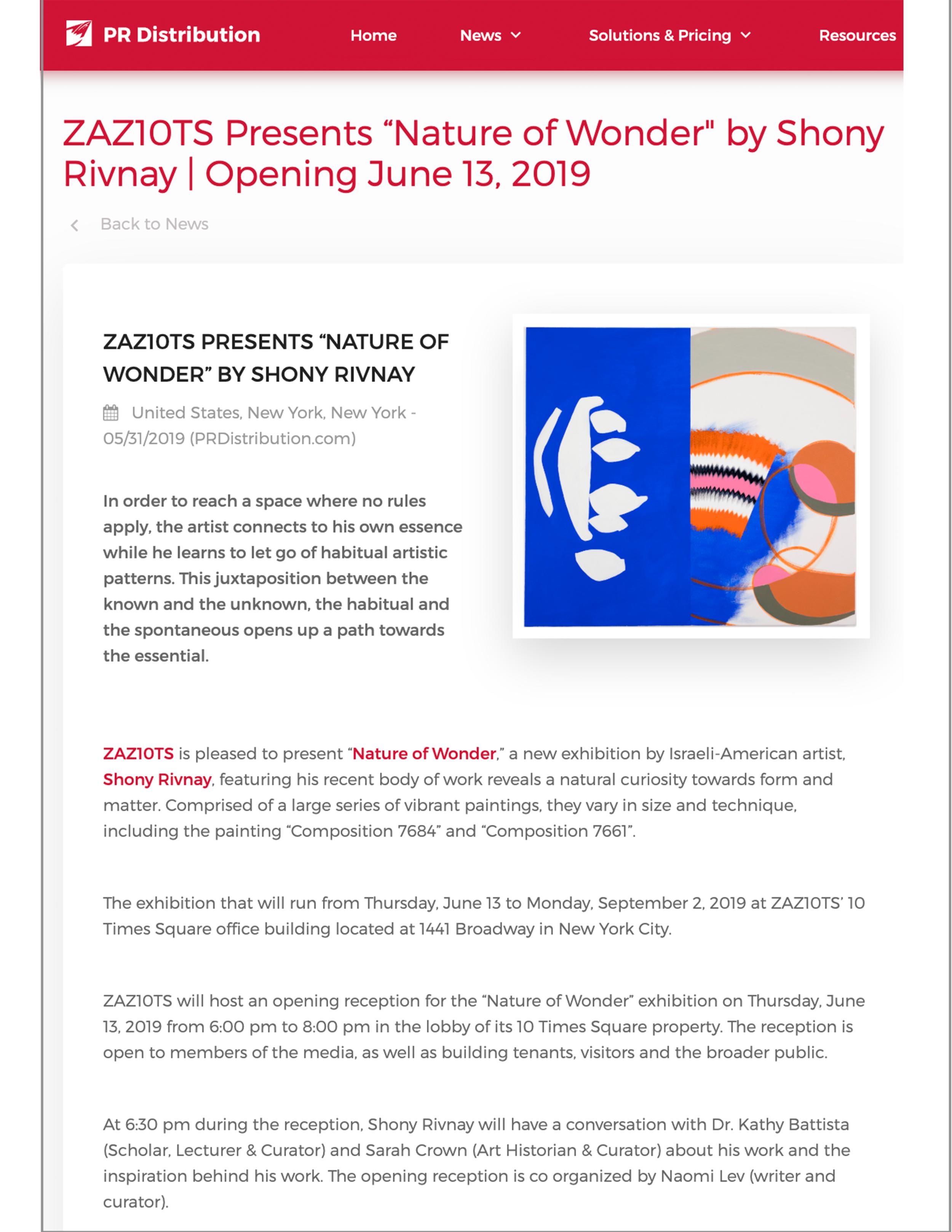 PRDistribution   | May 31, 2019.  PDF