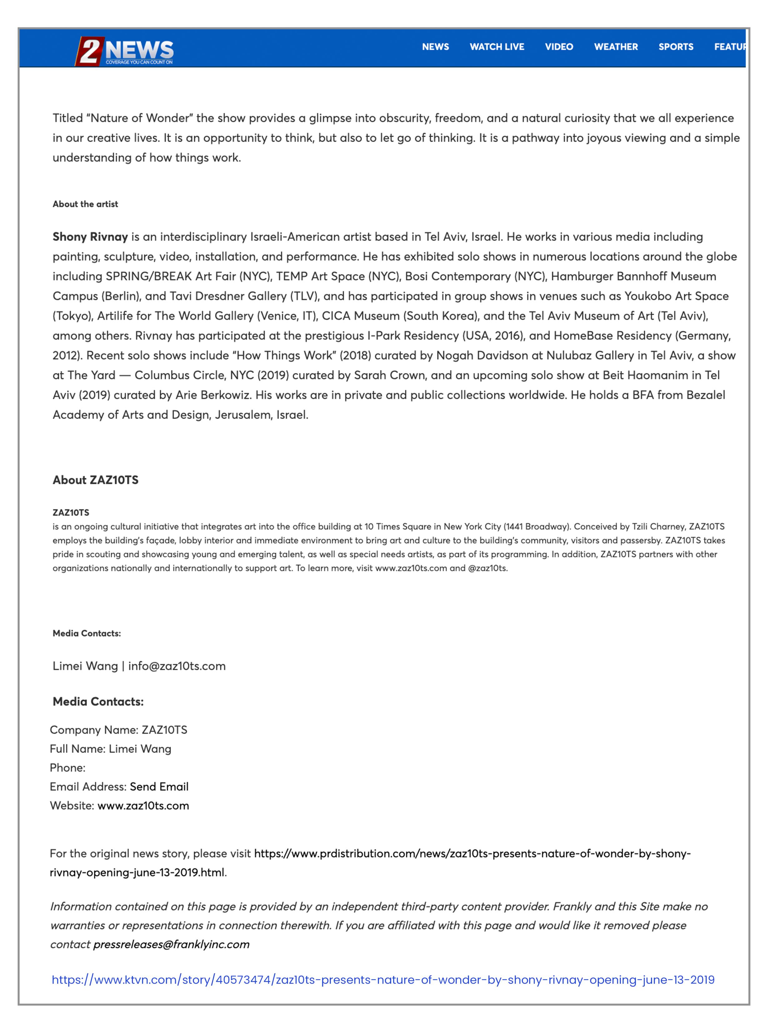 KTVN     | May 31, 2019.  PDF