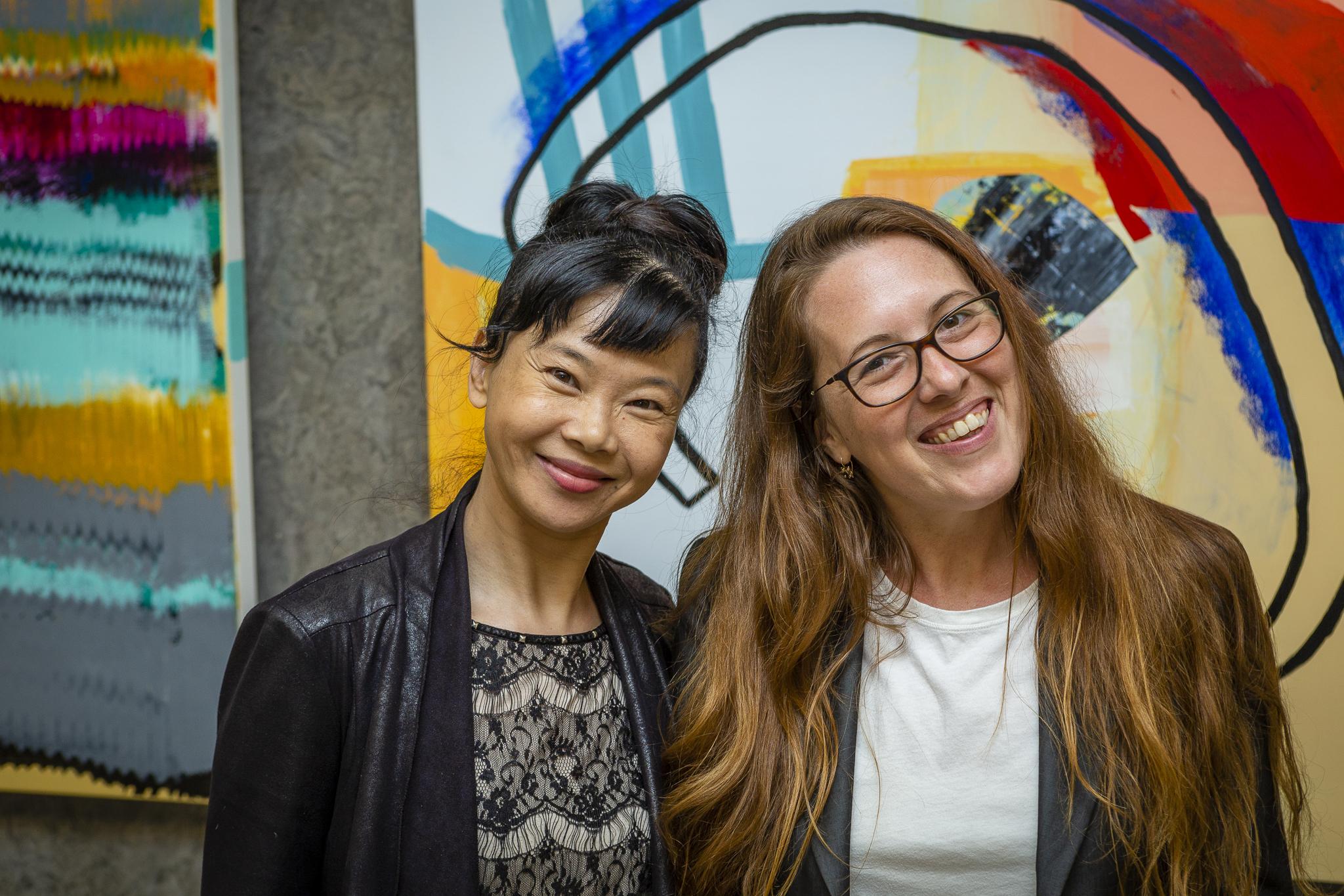 Limei Wang & Natalie Shazar