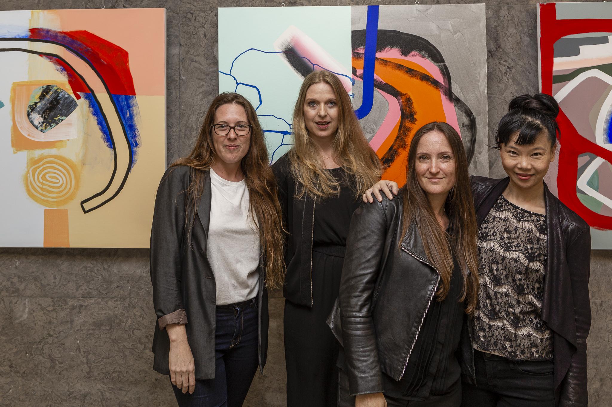 Natalie Shazar, Sarah Crown, Naomi Lev, Limei Wang