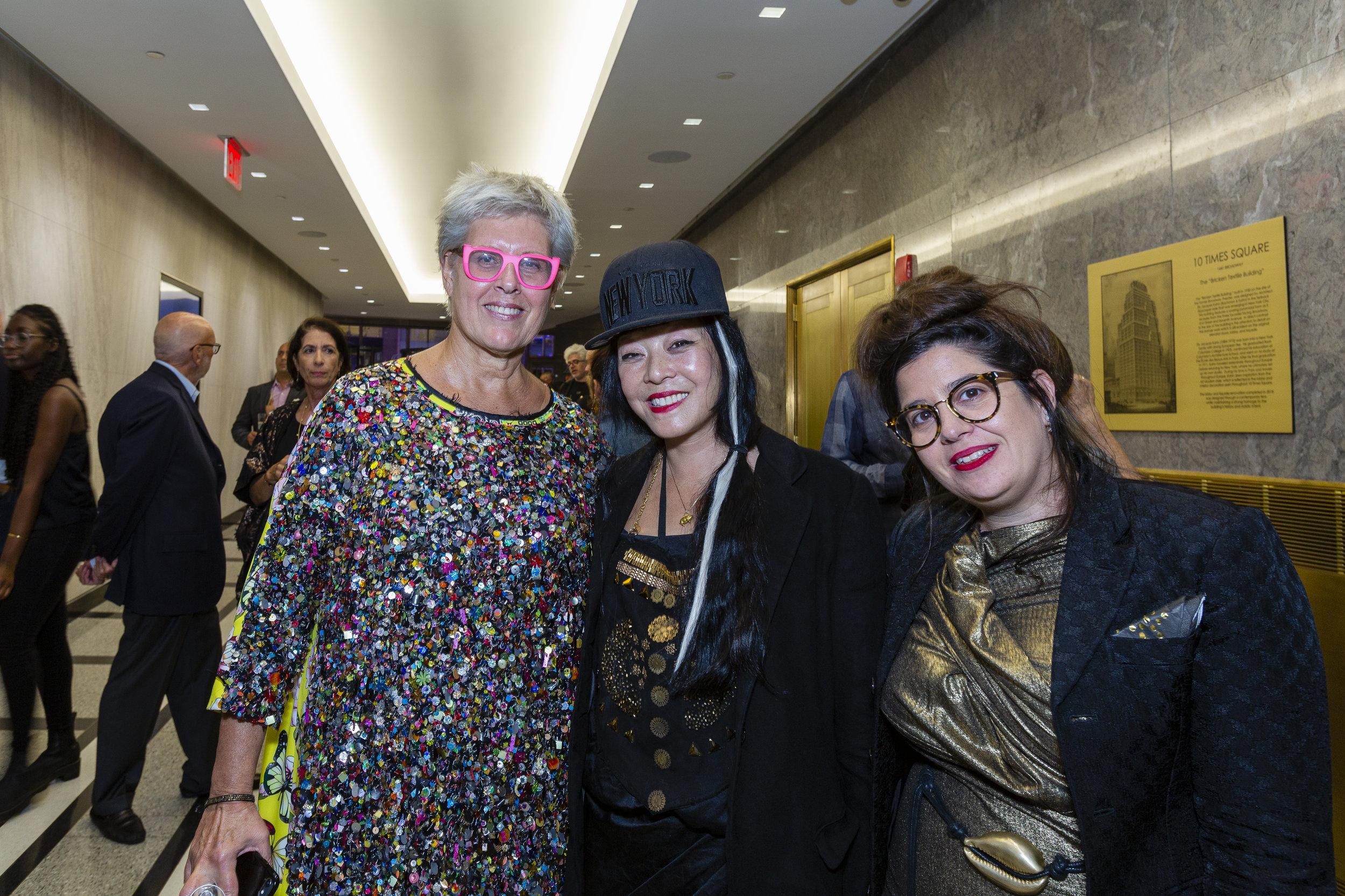 Copy of L-R: Tzili Charney, Gemma Kahng, Yaara Keydar