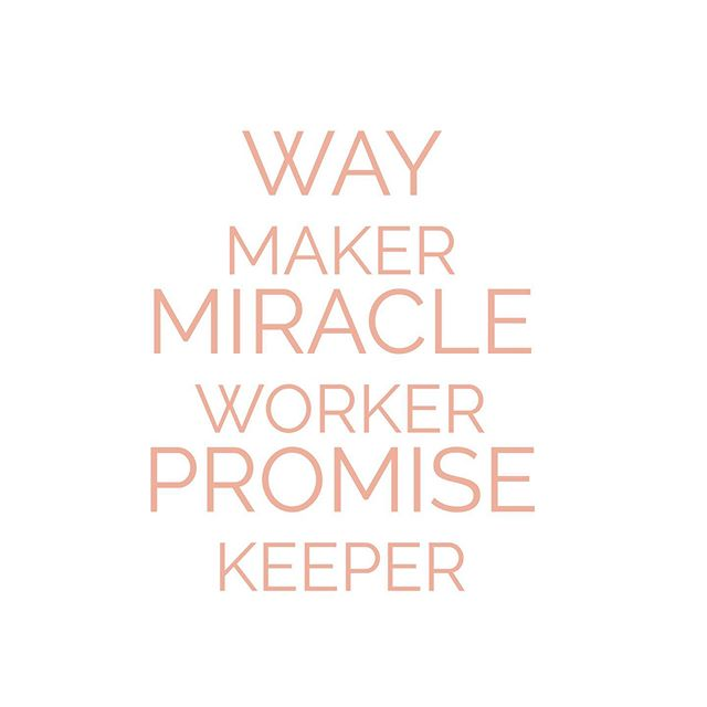 """Even when I can't see it, You're working. Even when I can't feel it, You're working.  You never stop, You never stop working. ✨ lyrics from @therealsinach's """"Way Maker"""""""