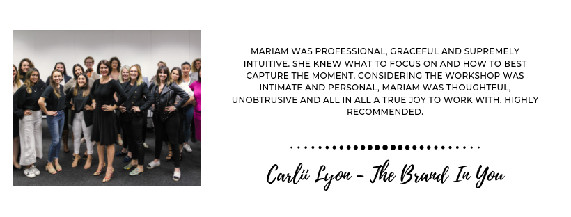 Photographed With Love Events Review - Carlii Lyon
