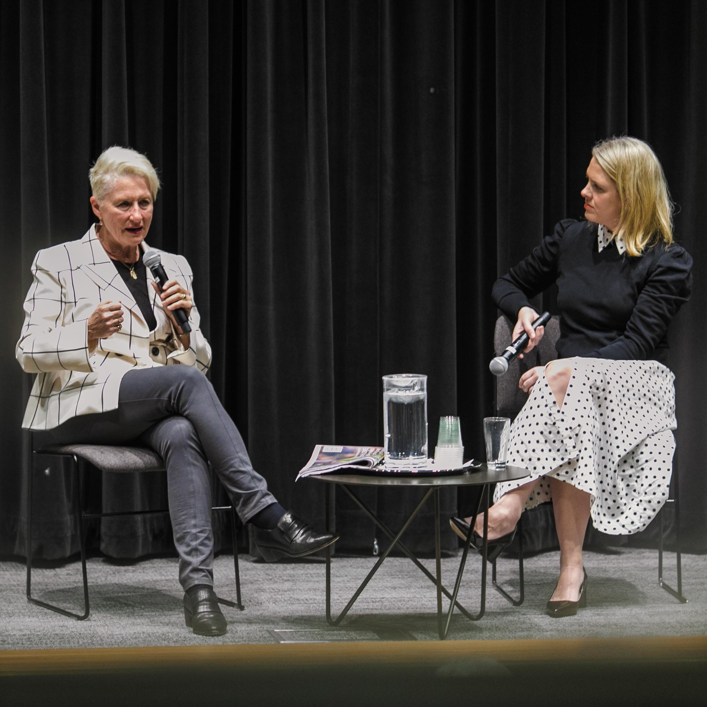 Kerryn Phelps in conversation with Georgie Dent -