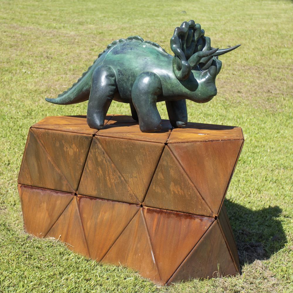 KREGAR_GREGOR_Triceratops on Corten Rock-2.jpg