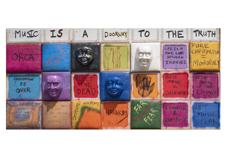 Serj Tankian - 'Music is a Doorway to The Truth', 594mm x 420mm - Digital Print - Signed by Serj