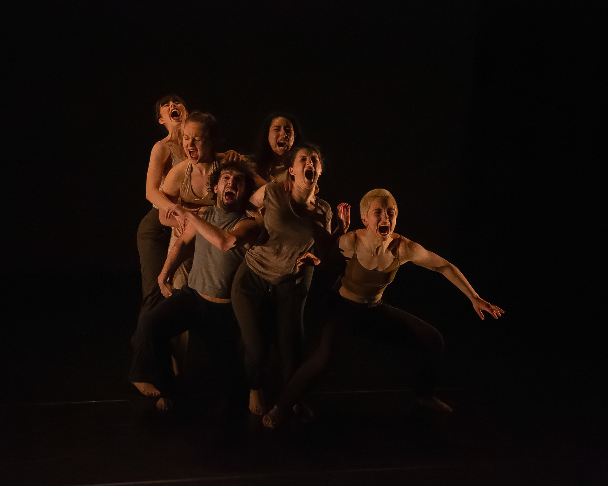 Untitled- In Rehearsal (Hunter College)  Performers: Paris Cullen, Satsu Holmes, Bethany Logan, MJ Markovitz, Chris Tabassi, Lea Torelli  Understudies: Liana Kleinman, Marisa Melito Jenna Miller